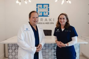 Dr. Tirso Negron, MD and Molly Lindblom, APRN